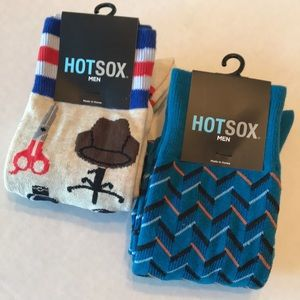 Men's Hot Sox bundle. 2 pair.